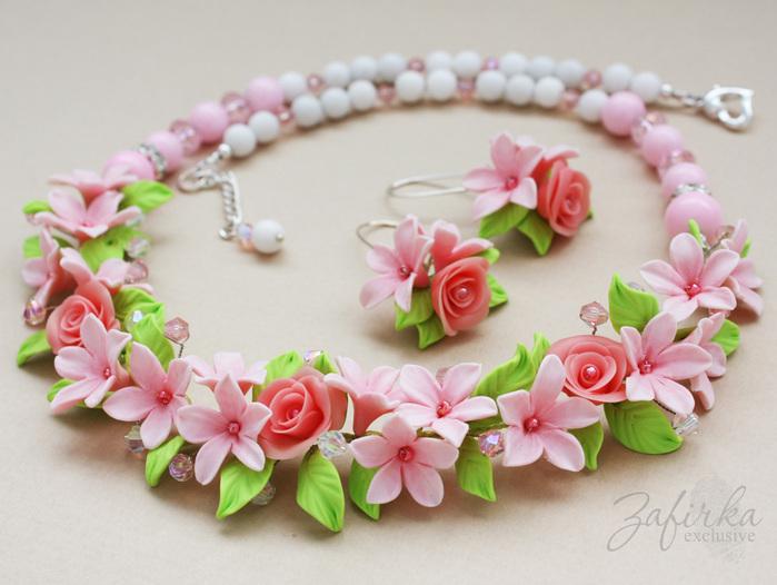 Изделия из пластики цветы - Изготавлимаем цветы