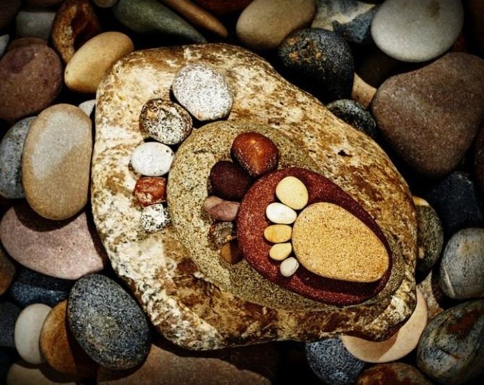 земля картинки из обычных камушков большому счету, зимняя