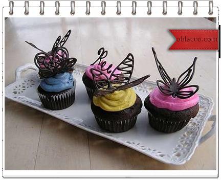 Шоколадные бабочки для украшения тортов и кексов/3518263_babochk (434x352, 216Kb)