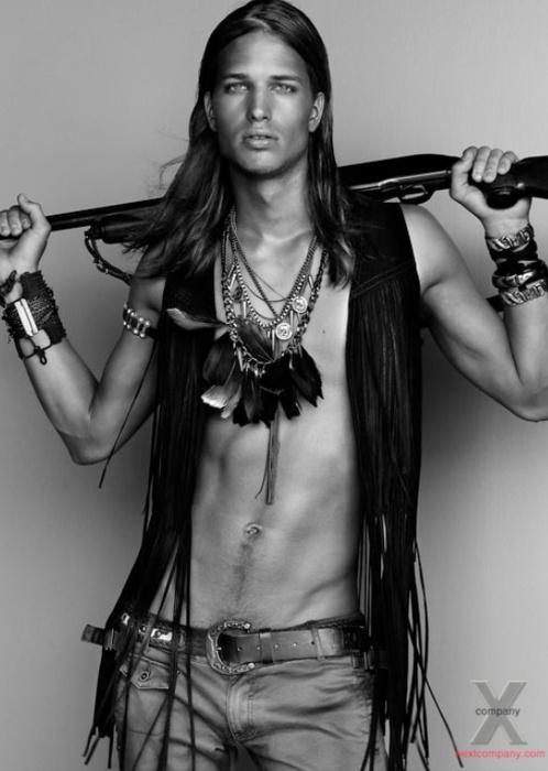 Фото мужчин моделей индейцев