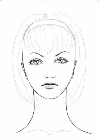Учимся рисовать портреты карандашом