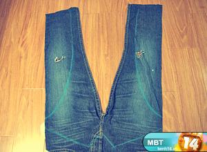 Жилет своими руками из джинсов