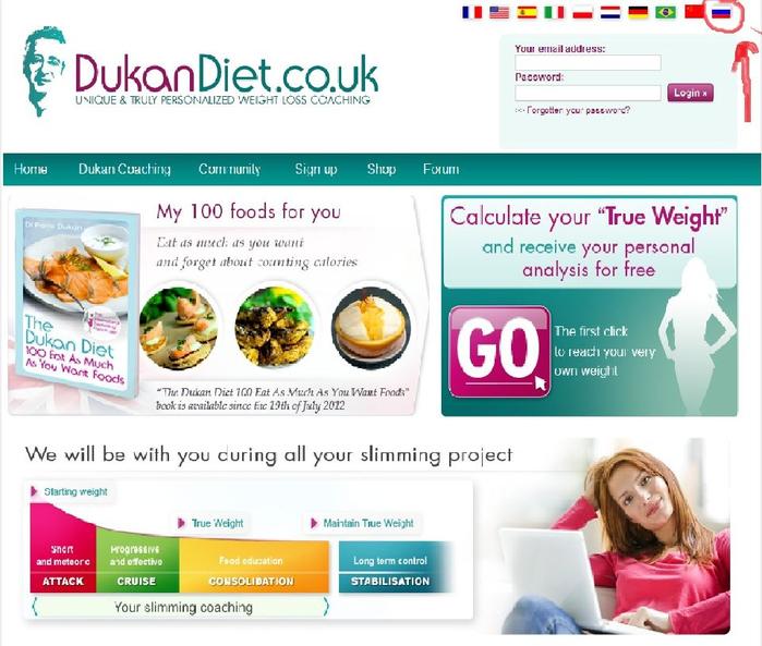 Livejournal диета дюкана