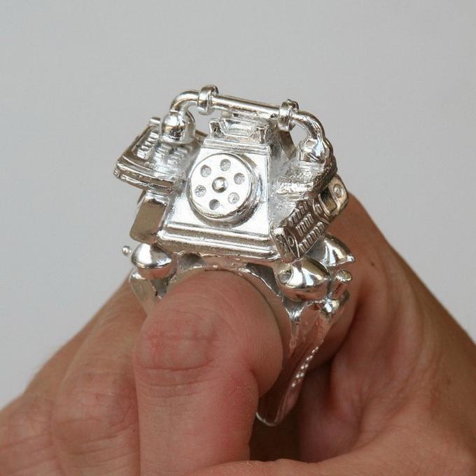 прикольные кольца фото