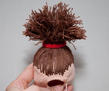 еще один способ крепления волос у куклы мастер класс обсуждение