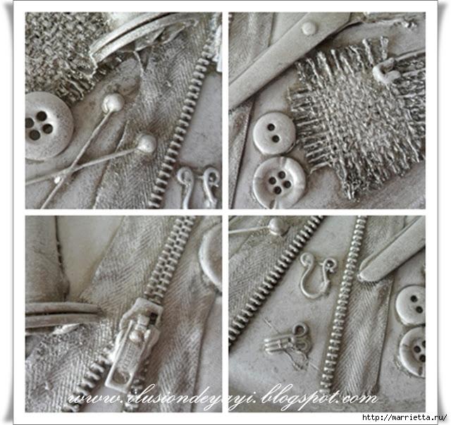 Шкатулку для швейных принадлежностей мастер класс пошагово #10