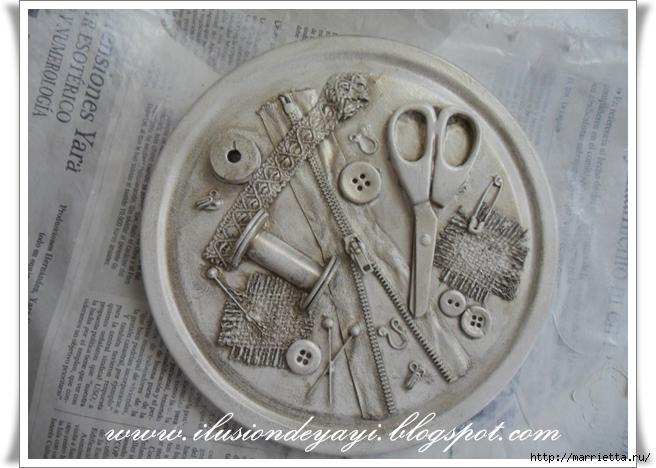 Шкатулку для швейных принадлежностей мастер класс пошагово #9
