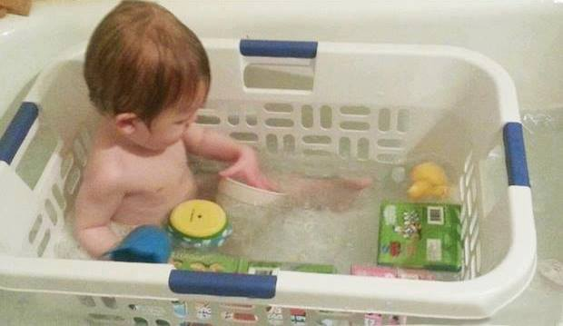 Как весело купать детей