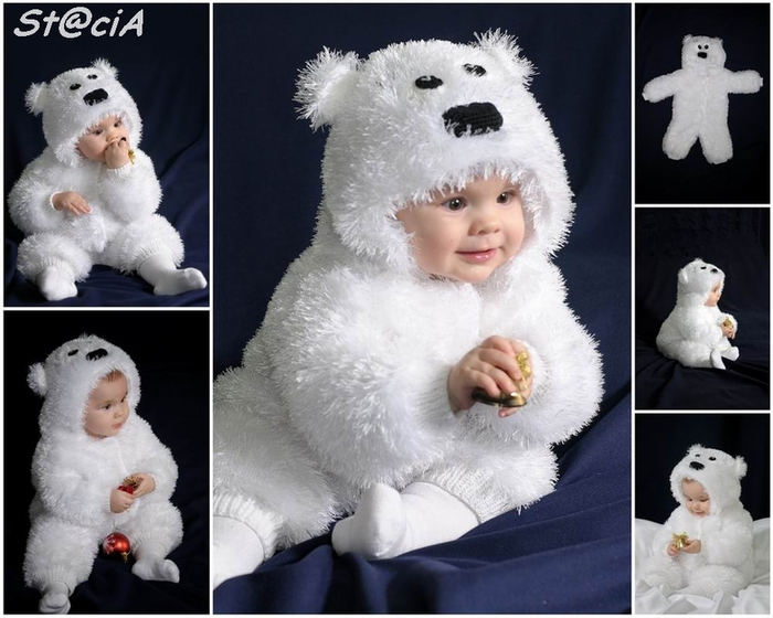 вяжем костюмчик для малыша мишка умка обсуждение на Liveinternet