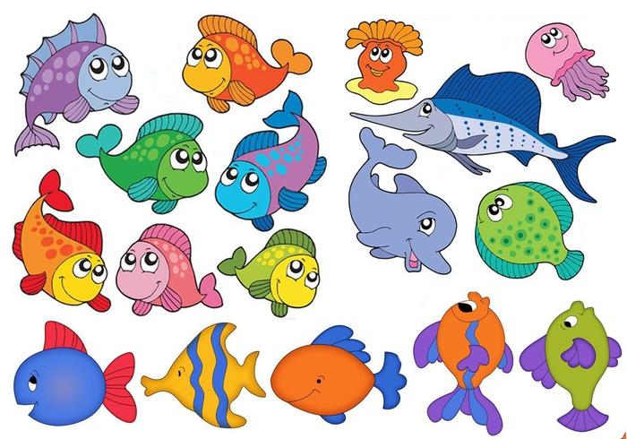 картинки рисунки рыбок
