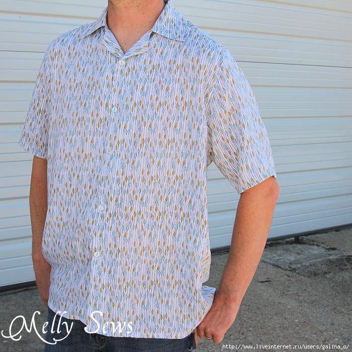Шитье мужских рубашек мастер класс сделай сам #1