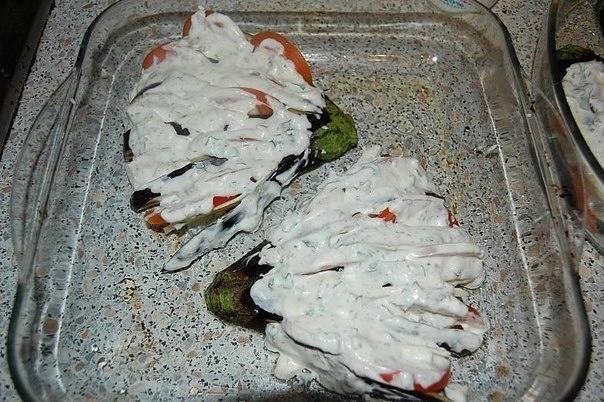 """Блюдо из баклажан """"Жар-птица"""""""