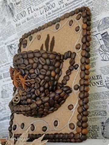 Поделки из кофейных зерен своими руками пошагово фото 142