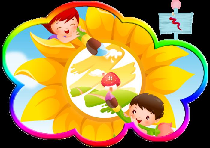 Картинка на уголок рисования в детском саду