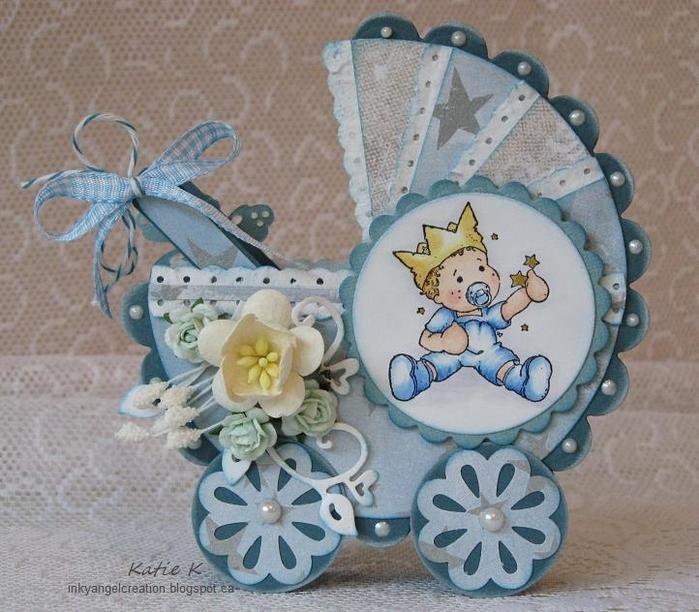 Открытки коляска своими руками, днем рождения