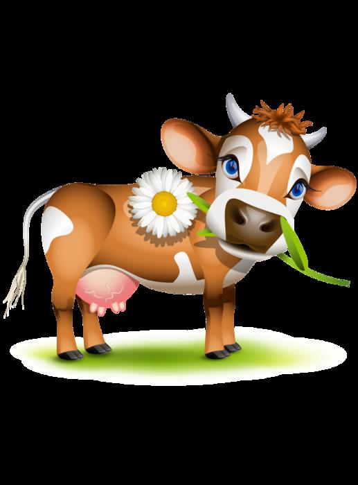 Мультяшные картинки с коровами