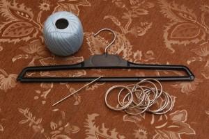 вешалка для хранения шарфов