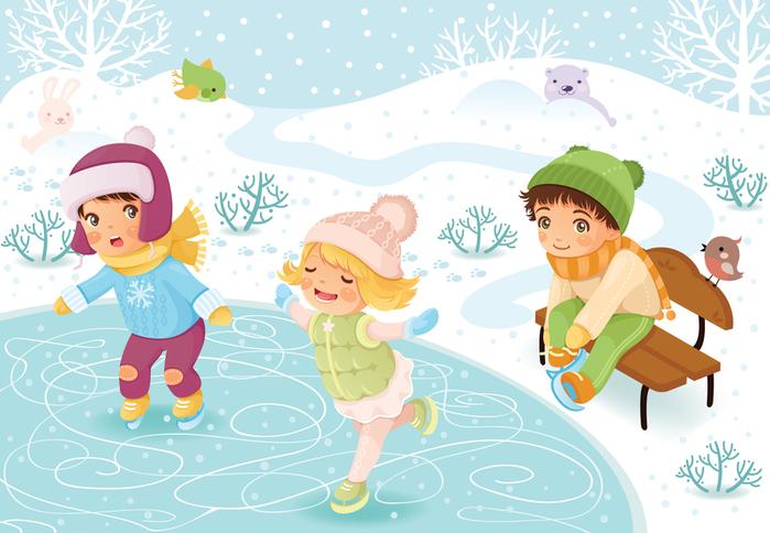 Картинки по запросу зима картинки для детей