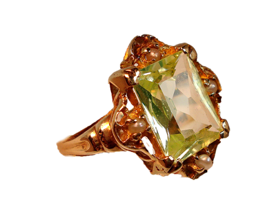 1203 Peridot and Seed Pearl ring3 (307x227, 94Kb)