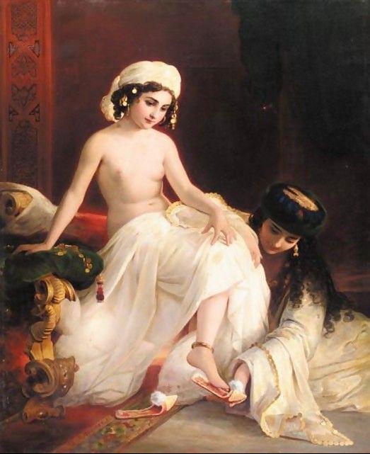 Carl-Timoleon-von-Neff-Harem-Beauty-1859 (523x641, 233Kb)