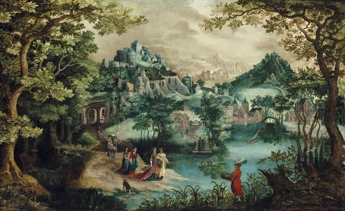Нахождение Моисея (The Finding of Moses) (атр) Частное собрание