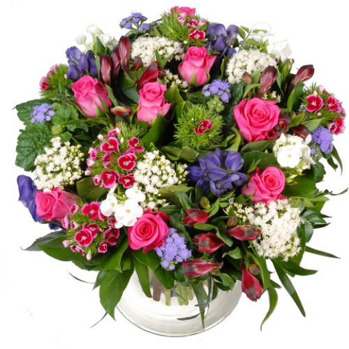 Оригинальные букеты с живых цветов 92