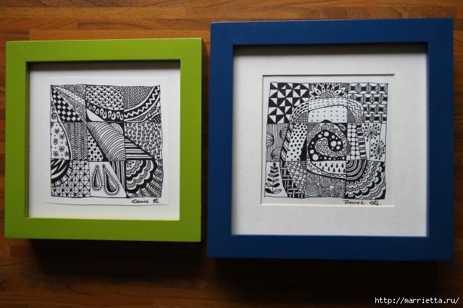 Зентагл - создаем панно и открытки ручной работы (13) (660x440, 131Kb)