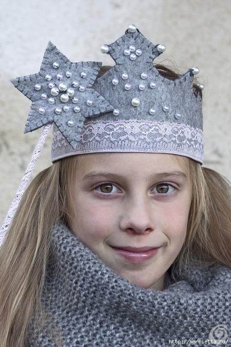 Аксессуары для карнавала. Корона для маленькой феи (1) (466x700, 263Kb)