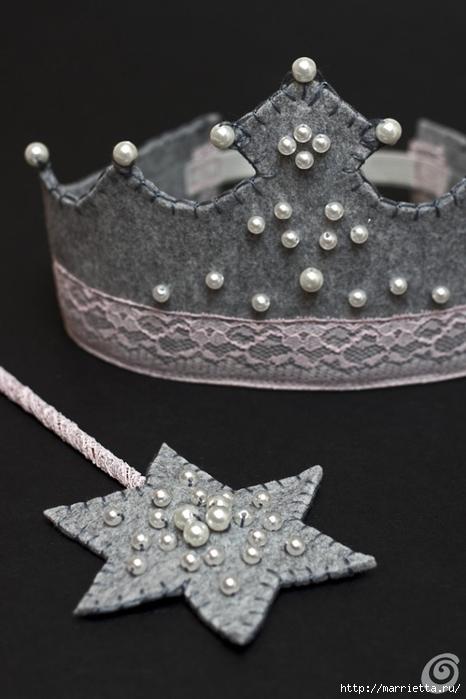 Аксессуары для карнавала. Корона для маленькой феи (15) (466x700, 173Kb)
