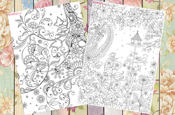 раскраски арт терапия самое интересное в блогах