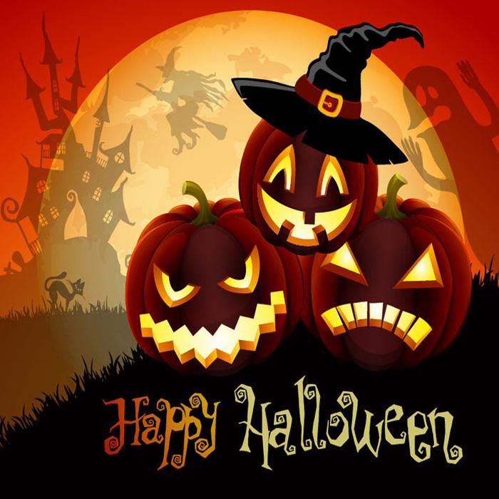 поздравительные открытки на праздник хэллоуин признаки музыкальных
