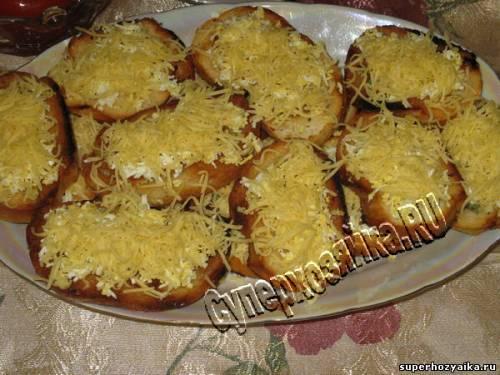 Гренки с яйцом и сыром рецепт