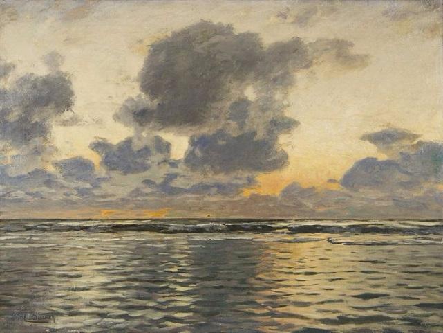 Вечер на Балтийском море (641x481, 281Kb)