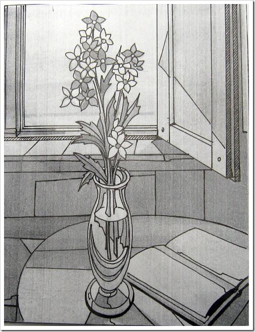 рисунки карандашом на окне синтезированный как