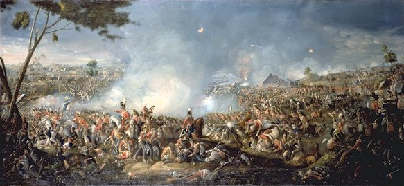 11 Sadler,_Battle_of_Waterloo (583x269, 44Kb)