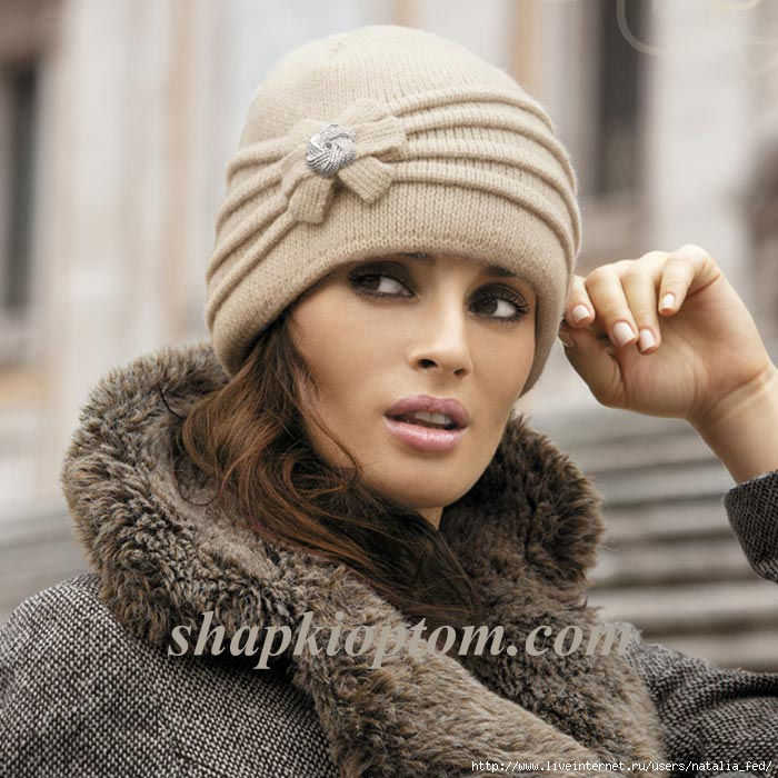 идеи вязаных шапок - Самое интересное в блогах