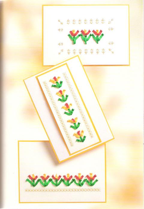 Мастер класс открытки с вышивкой своими руками, открытки днем рождения