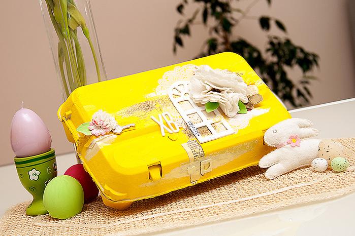 оформление упаковки для яиц к Пасхе