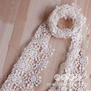вязание шарфа крючком схема самое интересное в блогах