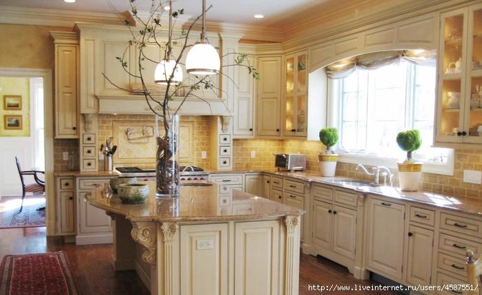 Кухни в тосканском стиле Кухни в тосканском стиле - Стильные интерьеры