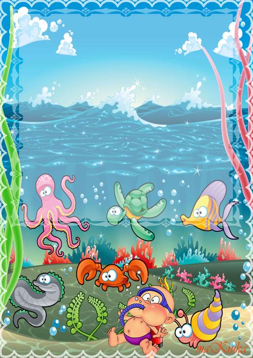 Картинки на морскую тему для лагеря