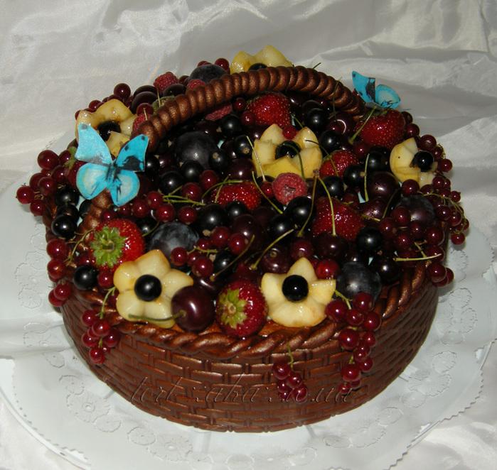 торт ягодная корзинка рецепт с фото считают, что