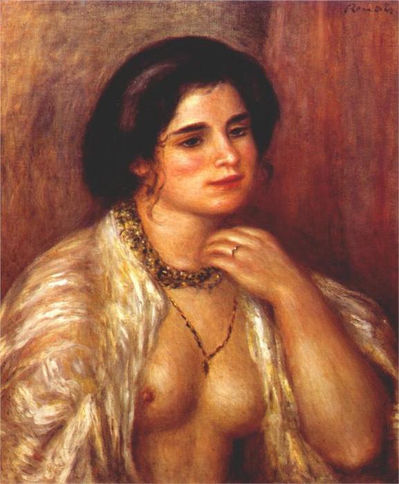 Габриэль с голыми грудями, 1907 (577x700, 55Kb)