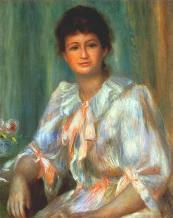Портрет молодой женщины в белом, 1901 (555x700, 49Kb)