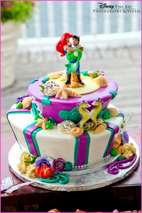 The-Little-Mermaid-Wedding-Cake (466x700, 396Kb)