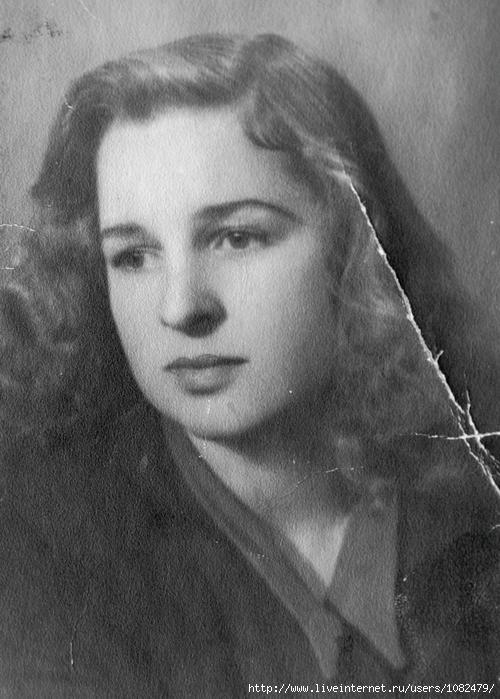фото в молодости ванги