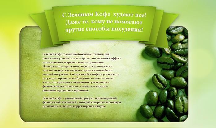 Как похудеть на зеленое кофе