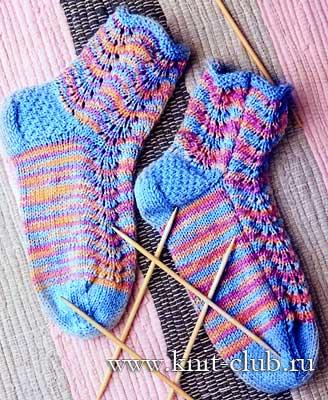 вязаные носки спицами записи в рубрике вязаные носки спицами
