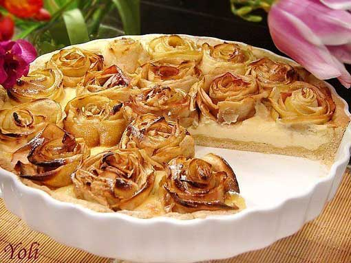 осенний пирог с яблоками