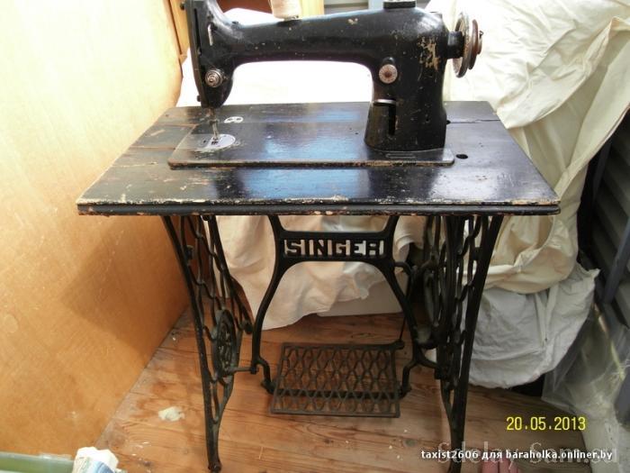 Реставрация швейной машинки зингер своими руками 91